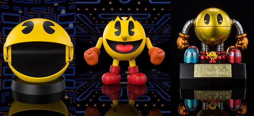 Pac-Man Collectibles Coming 2021
