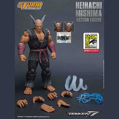 "STORM COLLECTIBLES 1/12 ACTION FIGURE HEIHACHI MISHIMA FROM ""TEKKEN 7"""