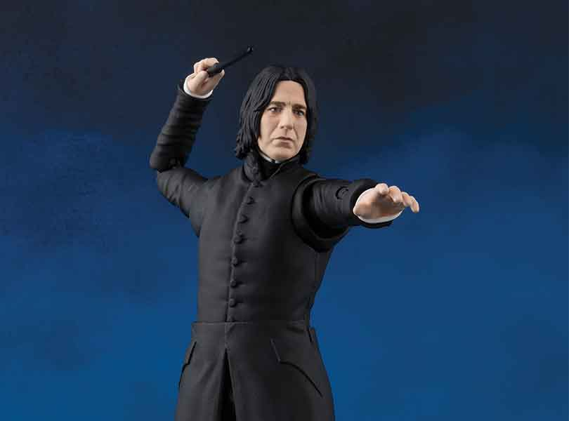 Severus Snape Joins the S.H. Figuarts Line this Spring