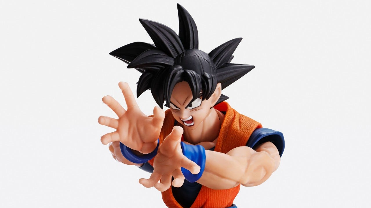 IMAGINATION WORKS Son Goku is the Pinnacle of Action Figures