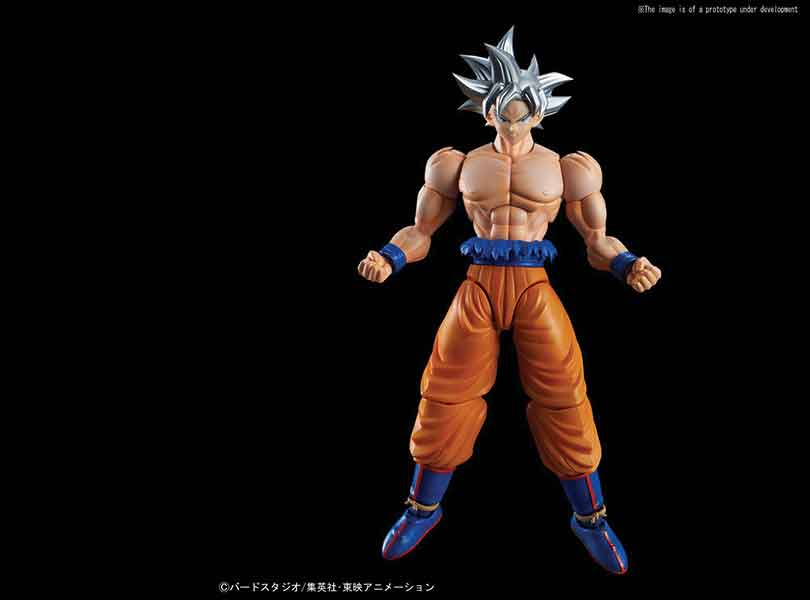 Goku's most powerful state, Ultra Instinct, joins Figure-rise Standard