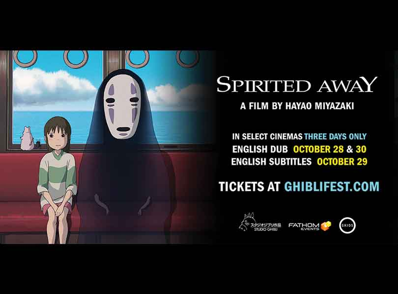 Just in Time for Halloween, Spirited Away at a Theater Near You