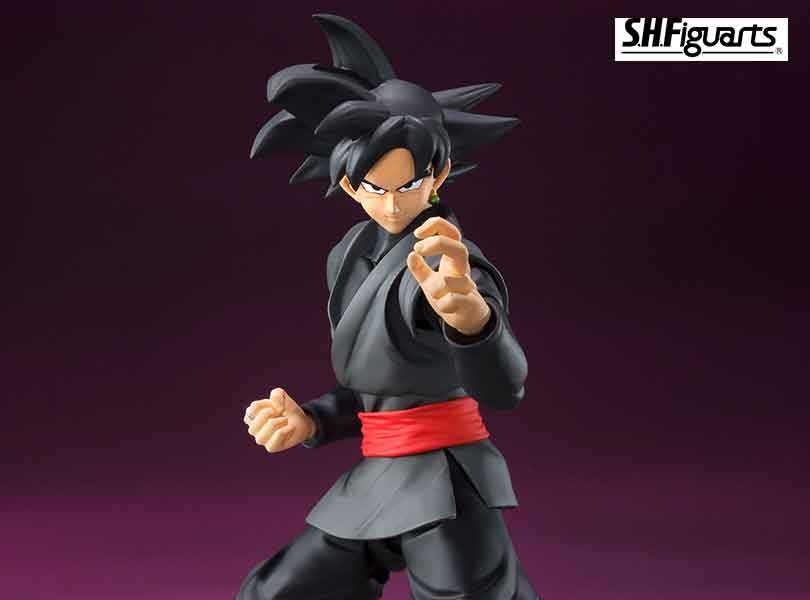 "Bandai Tamashii Nations S.H.Figuarts Goku Black From ""Dragon Ball Super"""