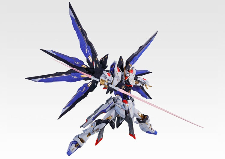 Metal Build Strike Freedom Gundam Soul Blue Ver. Available at NYCC 2019