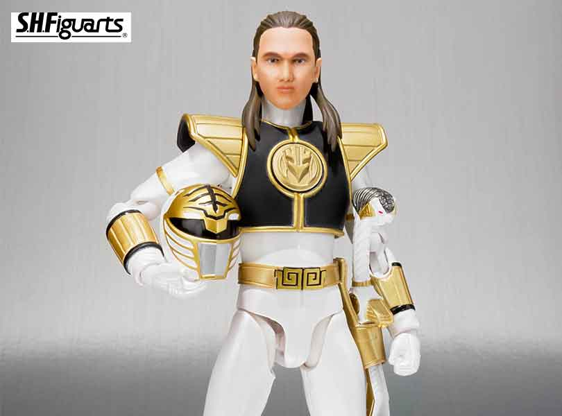 Bandai Tamashii Nations S.H. Figuarts White Ranger from Mighty Morphin Power Rangers