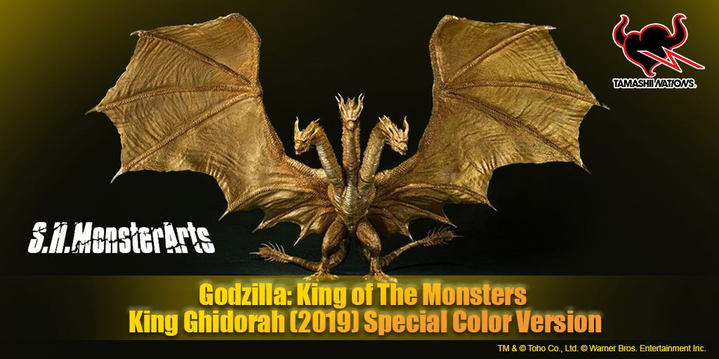 Godzilla: King of The Monsters - King Ghidorah (2019) Special Color Version