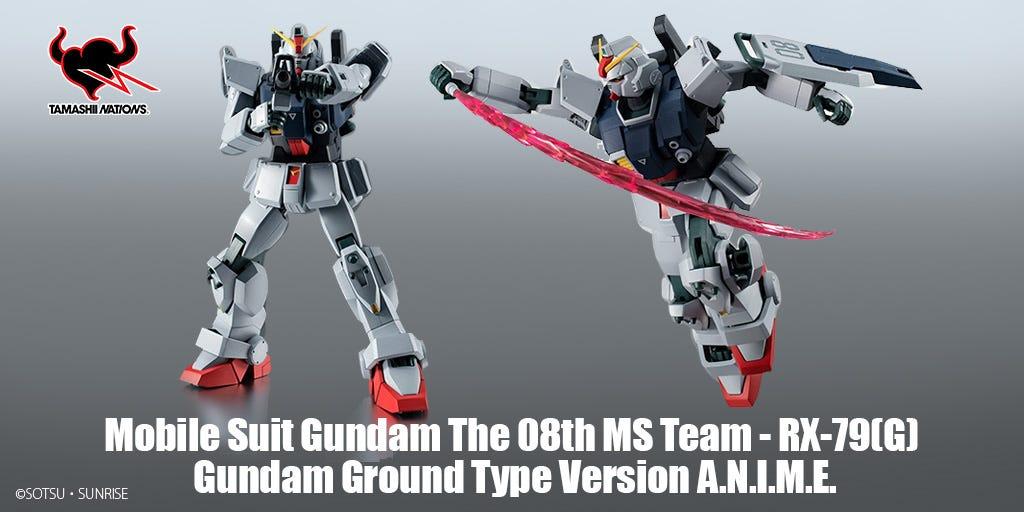 Mobile Suit Gundam The 08th MS Team - RX-79(G) Gundam Ground Type Version A.N.I.M.E.