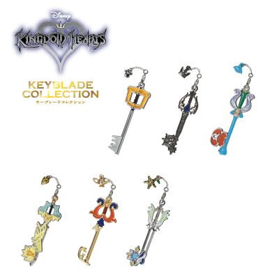 kingdom hearts keyblades