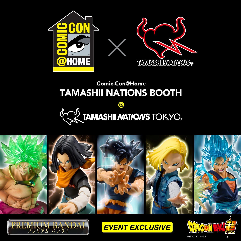 Comic Con @ Home Tamashii Nations