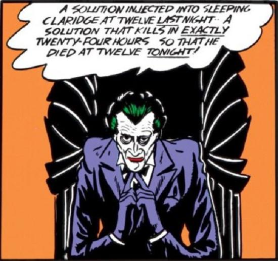 Joker's First Appearance
