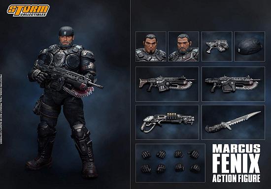 Marcus Fenix Gears of War