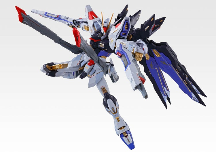 Metal Build Strike Freedom Gundam Soul Blue Ver