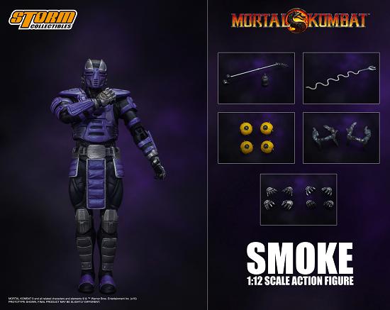 Cyber Ninja Smoke NYCC 2019 Exclusive