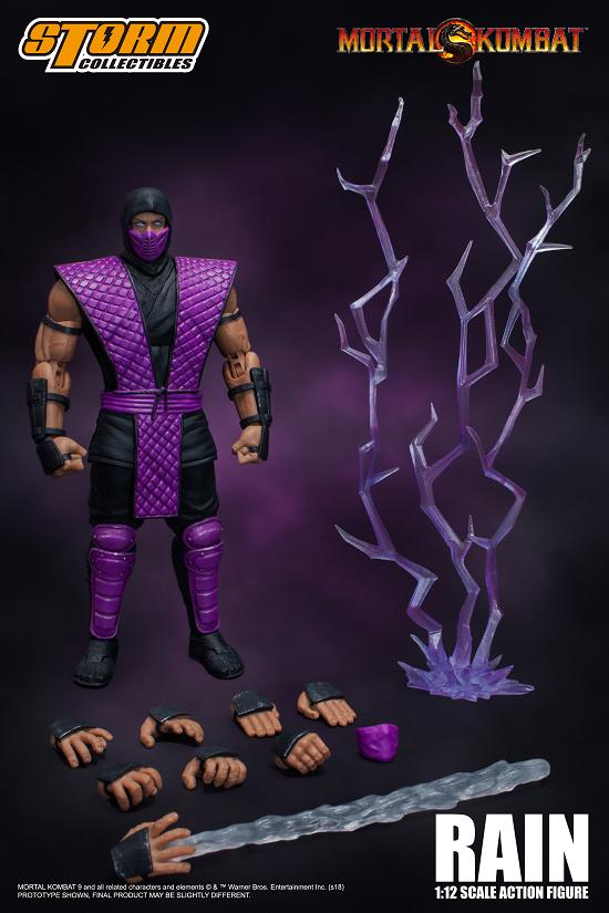 RAIN Mortal Kombat