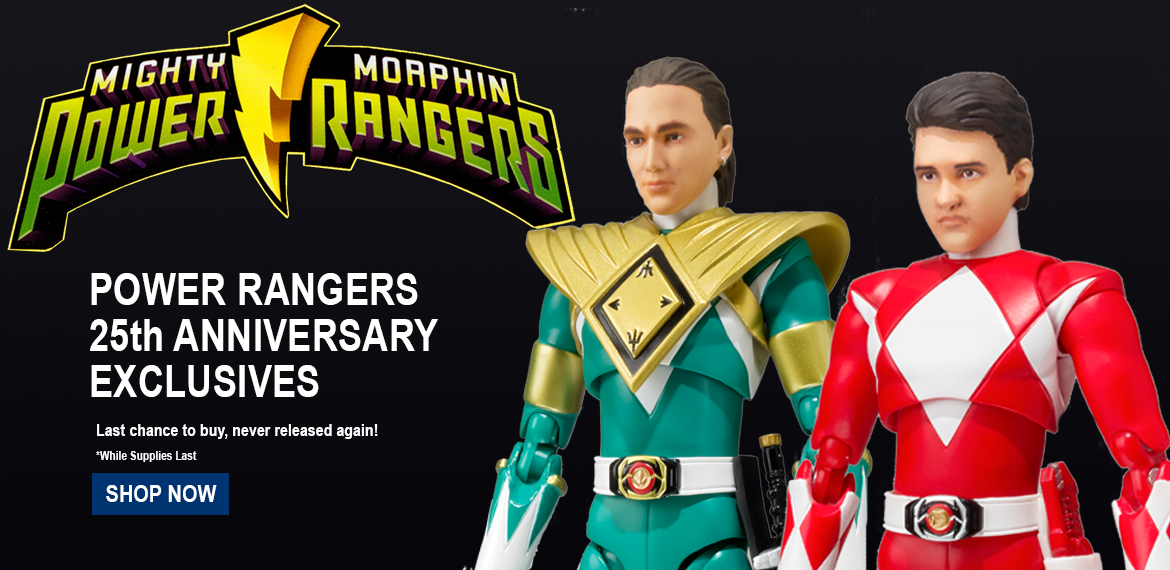 power rangers exclusives